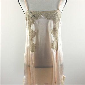 Vintage Lace Romper Lingerie Nightie
